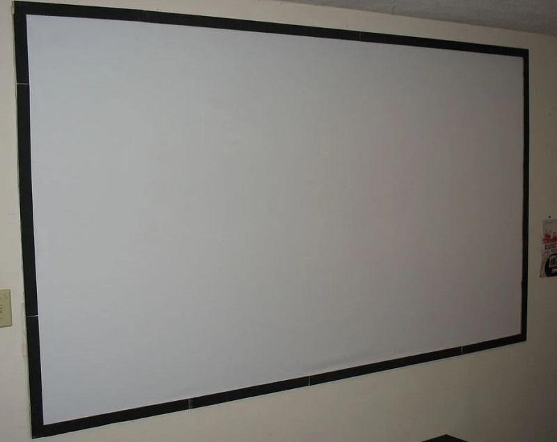 DYI projector screen