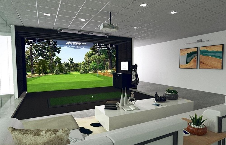projector mount for golf simulator