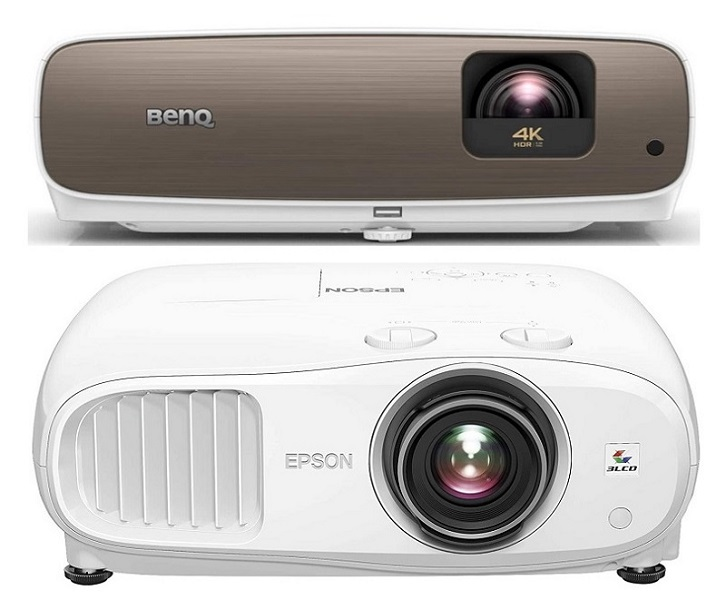 BenQ HT3550 vs Epson 3800 comparison